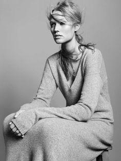 Zara Fall 2010 Campaign | Toni Garrn by David Sims