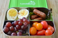 Lunchbox ideas using stainless steel containers .. No more plastic !!