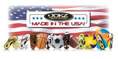 Jukz, Wear Your Sport! Jukz Shoes are made from 100% recycled material in the USA using Reflexology for comfort and durability. They incorporate sports balls directly into the design! The retail is $29.99/pair. We have backpacks too!  www.jukzshoes.com