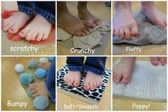 Several great suggestions for sensory exploration