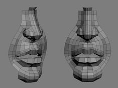 nose and mouth topology 3d Model Character, Character Modeling, Character Creation, Character Art, Character Design, 3d Drawing Techniques, Modeling Techniques, Blender 3d, Zbrush