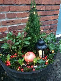 Udendørs juledekoration – Camilla Munk