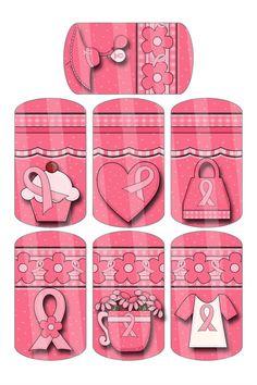 DIY Breast Cancer Awareness Digital Dog Tag x Images on x Sheet Velcro Dots, Digital Form, Pillow Box, Wax Paper, Breast Cancer Awareness, Craft Fairs, Dog Tags, Dogs, Ephemera