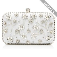 Forever New Rosie Jewelled Clutch