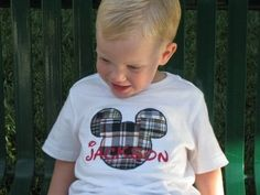 Disney's Mickey Mouse Boys Shirt/Size 2t  6 by BradyLaine on Etsy, $21.00