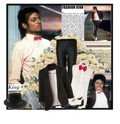 """""""Billie Jean is not my lover .."""" by klaudia-mj4ever ❤ liked on Polyvore featuring Helmut Lang, Joseph, Wanted, michael jackson, thriller, billie jean and king of pop"""