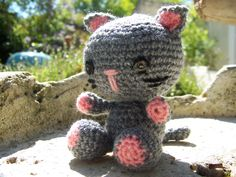 chat amigurumi - Made by Miloute