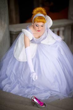 Cinderella 2 by LadyGiselle on DeviantArt Cinderella Ballgown, Cinderella Cosplay, Cinderella Disney, Cinderella Dresses, Disney Cosplay, Belle Cosplay, Princess Dresses, Disney Dresses, Halloween Cosplay