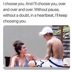 Justin Bieber Selena Gomez, Estilo Selena Gomez, All About Justin Bieber, Justin Bieber And Selena, Sassy Instagram Captions, Cutest Couple Ever, I Choose You, Cbt, In A Heartbeat