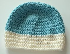 Baby crochet merino hat. Crochet Baby, Knit Crochet, Knitted Hats, Beanie, Knitting, Tricot, Breien, Ganchillo, Stricken