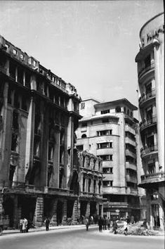 Once Upon A Time in Bucharest: Hotel Splendid Bucharest Romania, Modernism, Once Upon A Time, 1950s, Street View, Memories, Architecture, Park, Memoirs