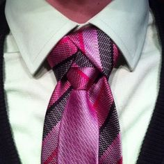 Ediety or Merovingian Knot Originally this knot is called the Ediety. It was seen in the Matrix 2 being donned by  Merovingian.This knot is very special, it looks as if your tie is actually wearing a little miniature tie! It will turn heads.  This knot needs more prep than most. You need to hide how the tie ends when wearing the Merovingian knot. Be it with a vest, cardigan, blazer, sport coat, or suit, you need to cover it up! The knot is important to show, the ends are important to hide.