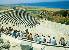 Enjoy history... Curium in Limassol, Cyprus