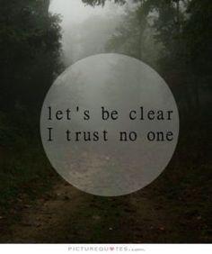Sia Elastic Heart // Let's be clear I trust no one Trust No One Quotes, Quotes To Live By, Me Quotes, Trust Quotes Funny, No Friends Quotes, Broken Trust Quotes, Song Qoutes, One Line Quotes, Lovers Quotes