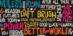Font dňa – Daft Brush   https://detepe.sk/font-dna-daft-brush?utm_content=bufferffa10&utm_medium=social&utm_source=pinterest.com&utm_campaign=buffer