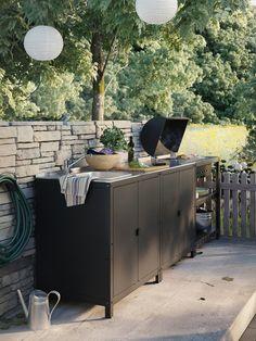 Ikea Outdoor, Outdoor Living, Outdoor Decor, Outdoor Ideas, Plein Air Ikea, Ikea Exterior, Barbecue, Ikea Family, Charcoal Grill