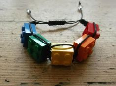 block shamballa style bracelet using LEGO® £10.00