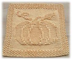 Cute fall dishcloth