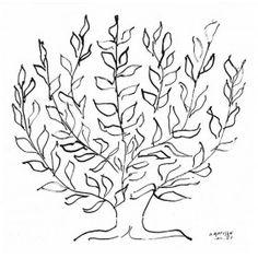 Le platane, 1951 By Henri Matisse