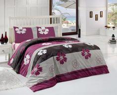 Купить постельное белье ALTINBASAK STORY фиолетовое 70х70 1,5-сп от производителя Altinbasak (Турция)