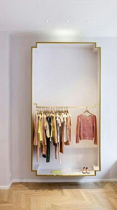 Closet Chic. minimal! Different….I like it