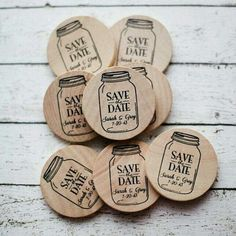 Great idea for save the date!