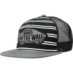 6b12775875810c VANS Vans Girls Skimmer Black Trucker Hat