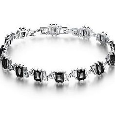 Combine this elegant bracelet with a black dress for going to drink cocktails. Repin if you also like it.