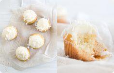 Coconut Cupcakes by somekitchenstories.com #Cupcakes #Coconut #somekitchenstories