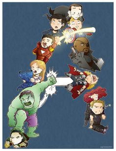 """""""A is for Avengers"""""""