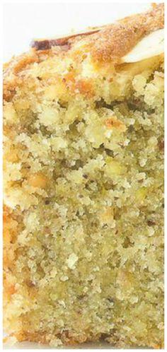 Almond & Pistachio Cake ~ A fragrant loaf cake with ground almonds, pistachios and orange juice!