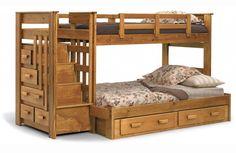 Стильные детские двухъярусные кровати