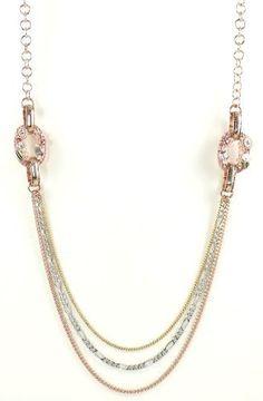 Betsey Johnson Jewelry Iconic Vintage Rose Triple Chain Necklace New 2013 Betsey Johnson,http://www.amazon.com/dp/B00BB3KYWY/ref=cm_sw_r_pi_dp_cTeOrb560C4B42B6