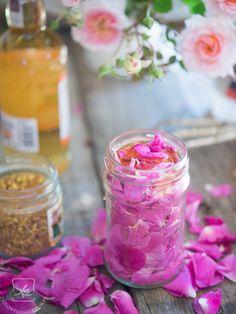 When live gives you lemons try rose petals elixir!