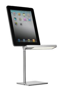 Clever: LED-Lampe mit integrierter iPad-Ladestation