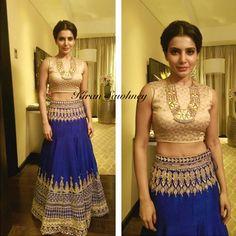 Top Indian fashion and lifestyle blog: Samantha Ruth Prabhu in Anita Dongre