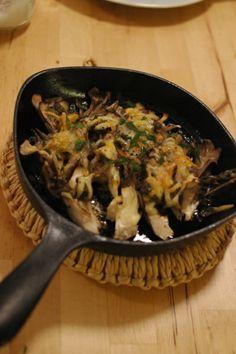 舞茸のオーブン焼き アンチョビ