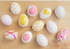 Украшаем яйца к Пасхе ярко и необычно - рисунки фломастером