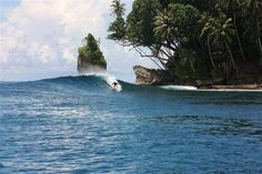 Telo Islands in Sumatra. #Surfing
