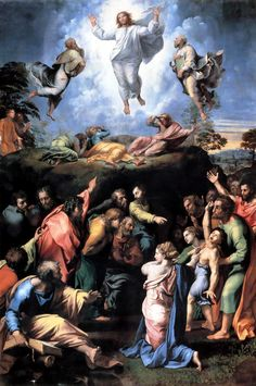 'The Transfiguration' by Raphael Sanzio