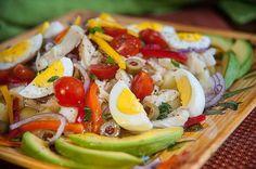 Ensalada de Bacalao (Salt Codfish Salad)