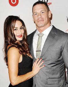 John Cena and Nikki Bella | ... John Cena admits to Nikki Bella that he once pooped his pants during a