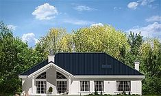 a full screen view of Small Bungalow, House Plans, Garage Doors, Outdoor Structures, House Design, Cabin, Mansions, House Styles, Gallery