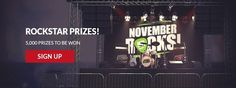 #NovemberRocks - #NetEnt - #RockSlots - #NetEntRocks
