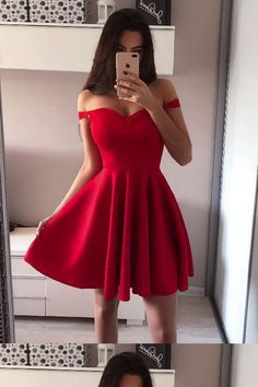 Cheap Fine Black Homecoming Dress Off The Shoulder Red Homecoming Dresses Broad Strap Little Black Dress Simple Homecoming Dresses, Hoco Dresses, Sexy Dresses, Evening Dresses, Dress Outfits, Formal Dresses, Party Dresses, Graduation Dresses, Cheap Dresses