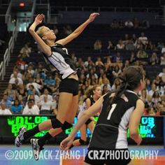 Volleyball Pictures -- Hundreds of indoor and beach action shots from national, international, collegiate and junior teams!