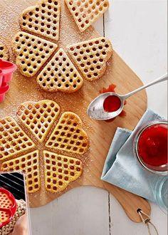 Vafle - geniální sobotní snídaně :)