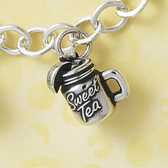 It's National Iced Tea Day! What better way to celebrate today than relaxing with a cold glass of iced tea and our Sweet Tea Charm.