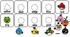 Making Learning Fun |  Angry Bird Color Matching