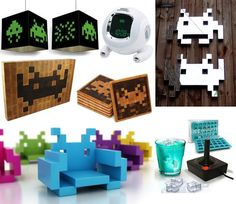 Space Invaders Decor | POPSUGAR Tech